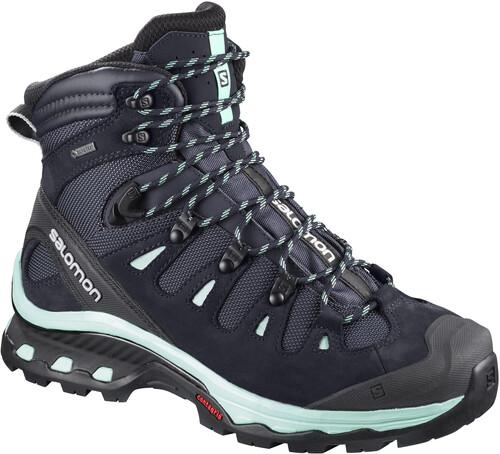 Quête Salomon Trekking Premier Gtx Et Des Bottes De Randonnée Pour Femmes - Bleu - 38 2/3 Ue B5ZFE8BhC
